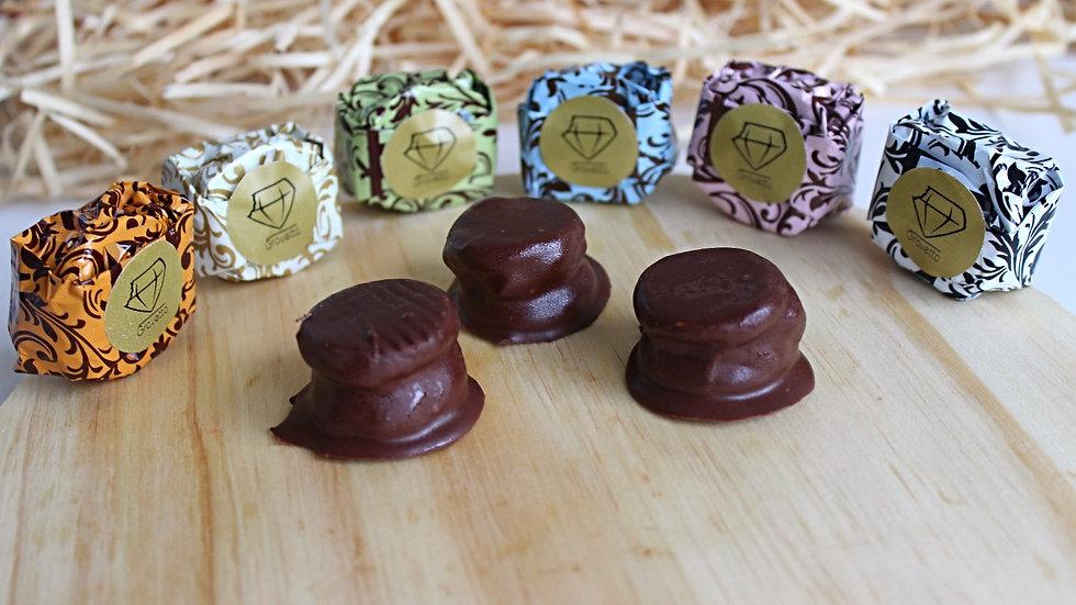 Mini Alfajor de Nutella 20g - Validade 45 dias