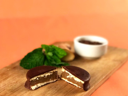 Alfajor de Ovomaltine Refrescante