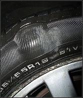 Tyre Bulge