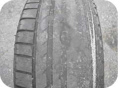 Balled Tyre