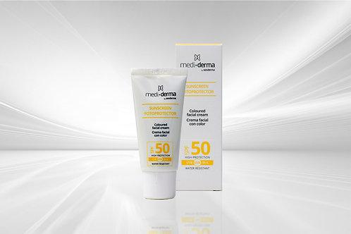 Protección solar spf50 (con o sin color)