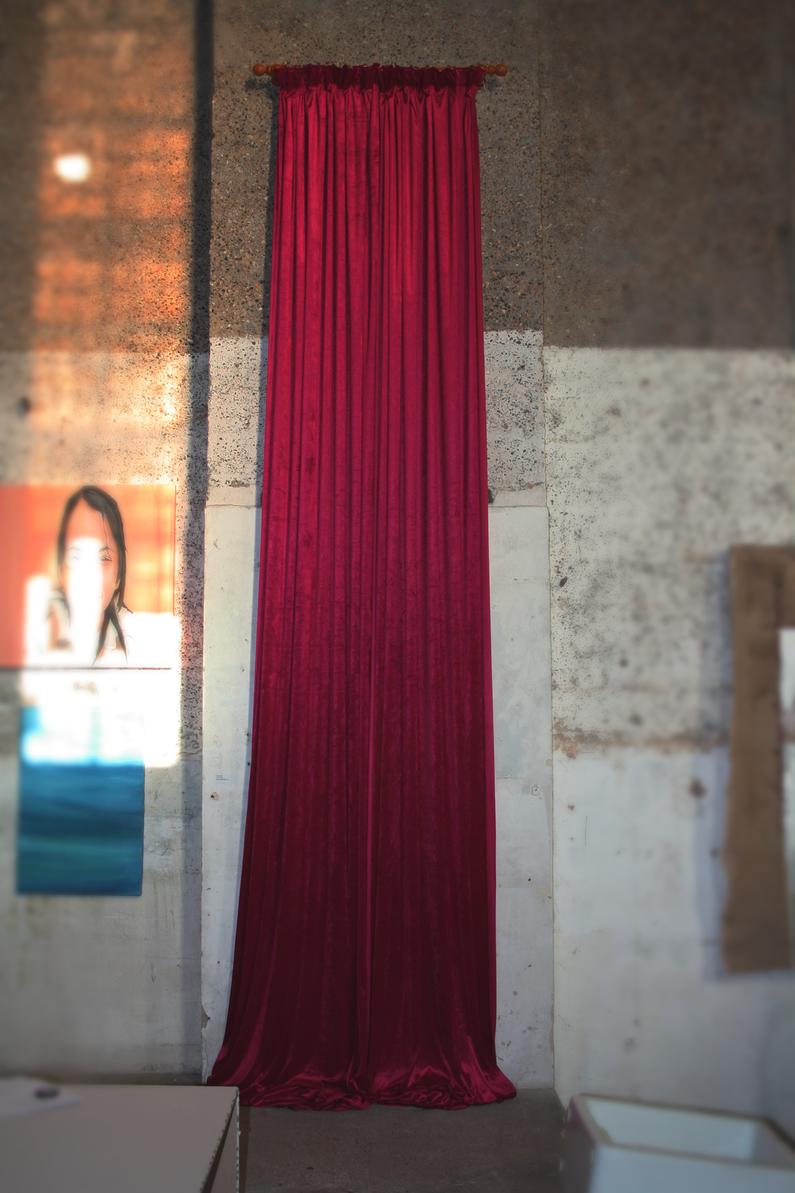 Velvert Curtain