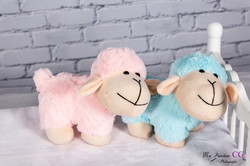 Mouton Rose / Bleu