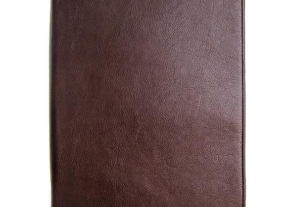 iPad Leather Portfolio/Padfolio With Handmade Paper Notebook