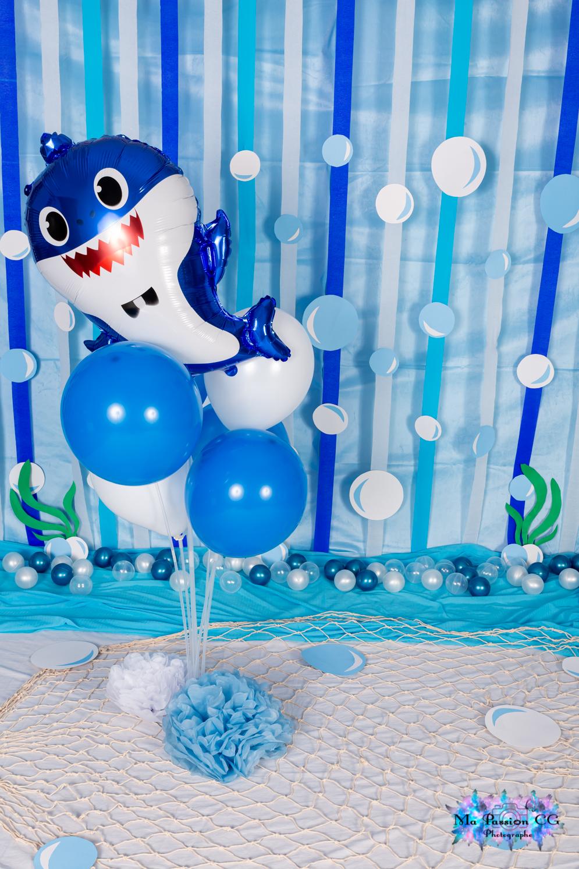 Baby Shark ou mer bleu