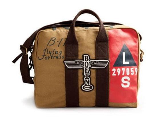 B-17 KIT BAG - Tan with Dark Brown
