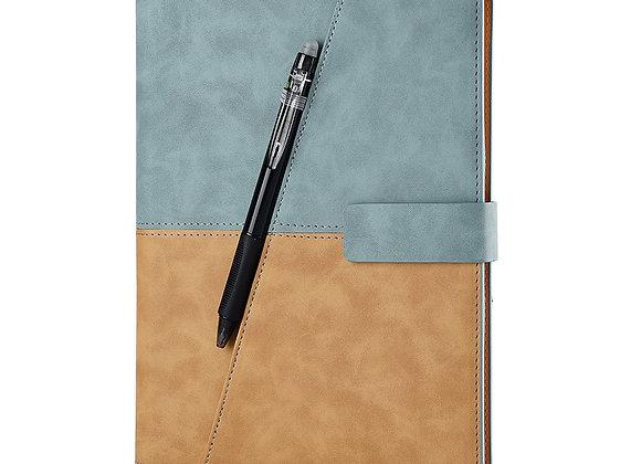 Leather Spiral A5 Notebook Smart Reusable Erasable Journal Notepad