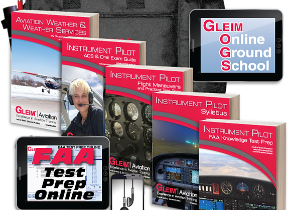 Deluxe Instrument Pilot Kit With Audio Review