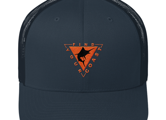 Find Your Coast Marlin Vintage Trucker Hat