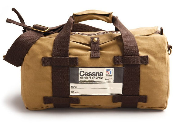 CESSNA STOW BAG - 100% Cotton twill – 17″ 1/2 l  x 9″ h x 8″ w