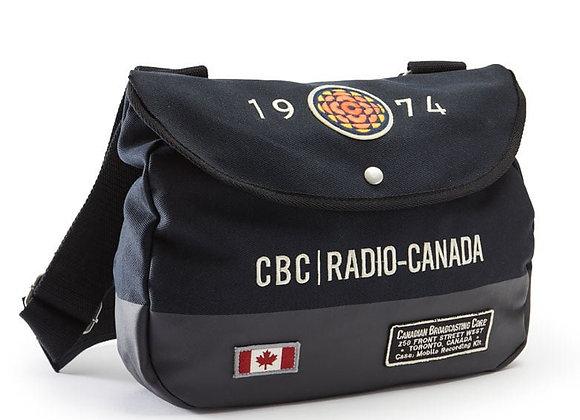 CBC 74 SHOULDER BAG, NAVY - 100% Cotton Twill Body.