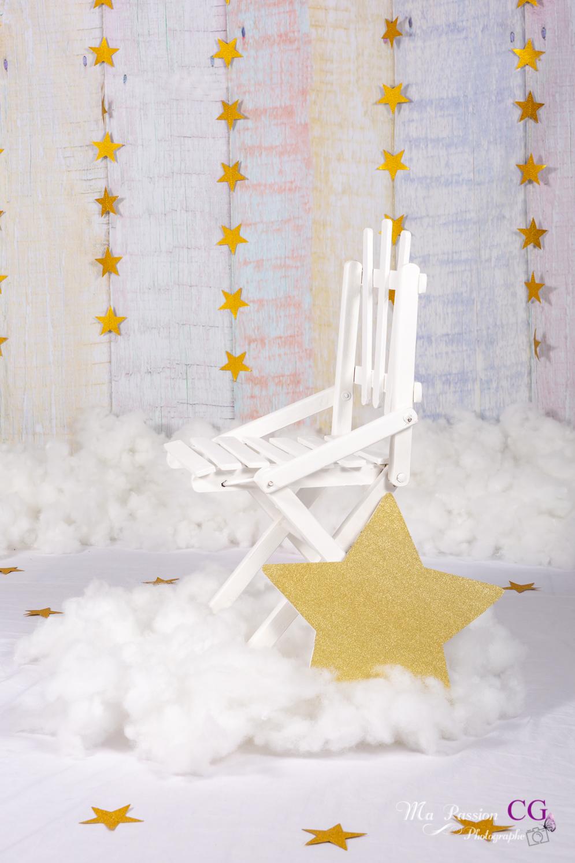 Décors chaise étoile