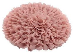Mousseline de soie rose pastel