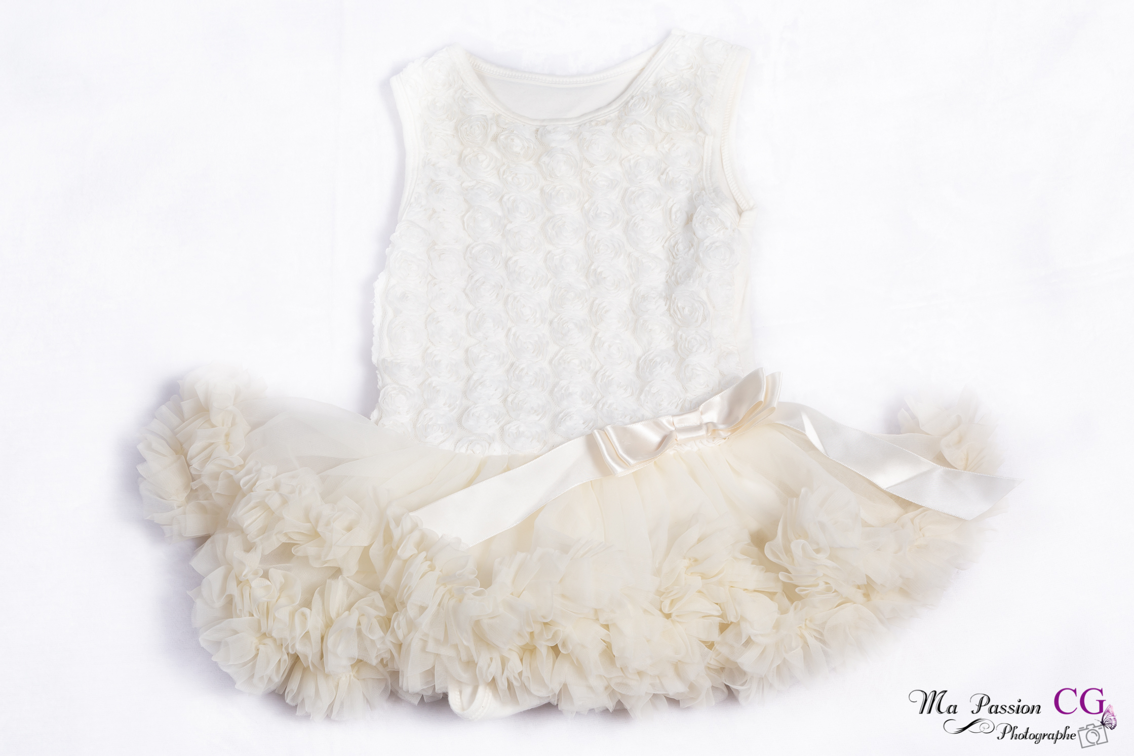 Robe blanc / crème