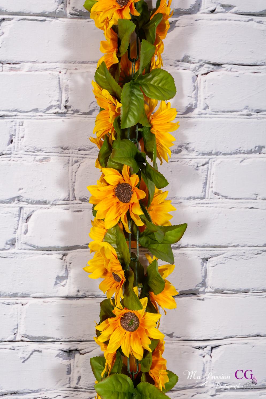 Fleur orange/jaune