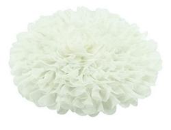 Mousseline de soie blanc