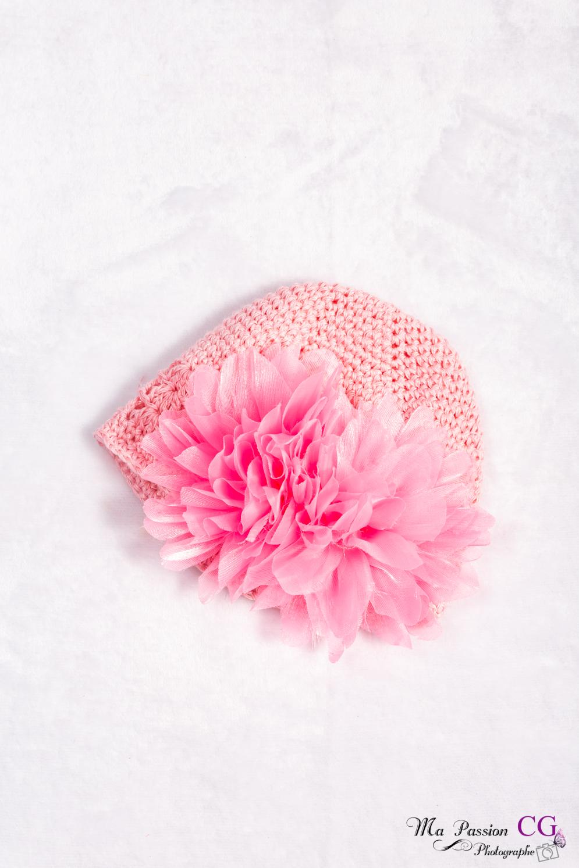 Bonnets fleurs