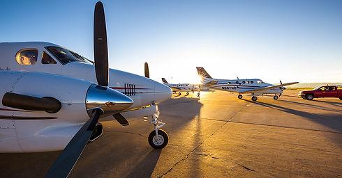 Three-King-Airs-ramp-sunset.jpg