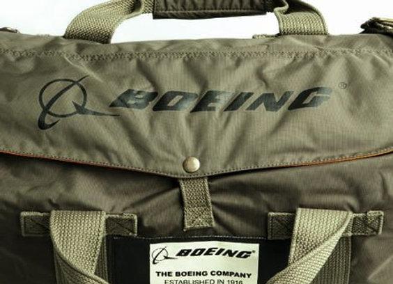 BOEING STOW BAG - Nylon Stow Bag. Orange nylon water-resistant interior.