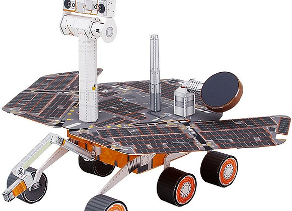 Space Mars Exploration Rover Folding Cutting Mini Handmade 3D Paper Model