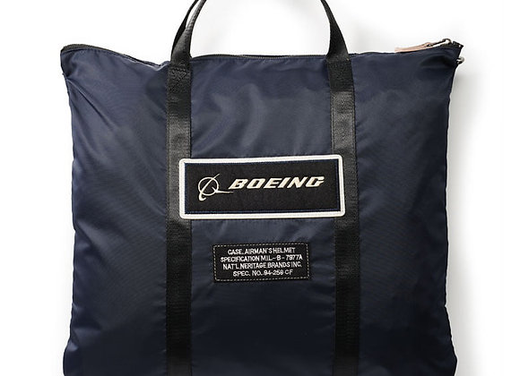BOEING HELMET BAG, NAVY - Made of 100% nylon. Imported