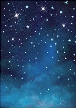 Douce nuit étoilé 5X7