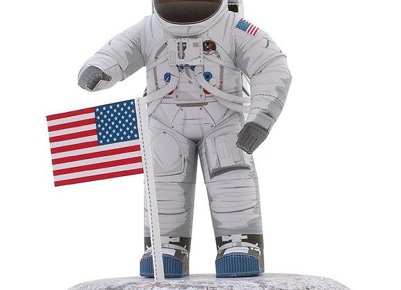 American Astronaut Spacesuits - Handmade 3D Paper Model Sci-Fi Papercraft