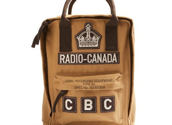 CBC BACKPACK - 100% Cotton Twill Body. Imported.