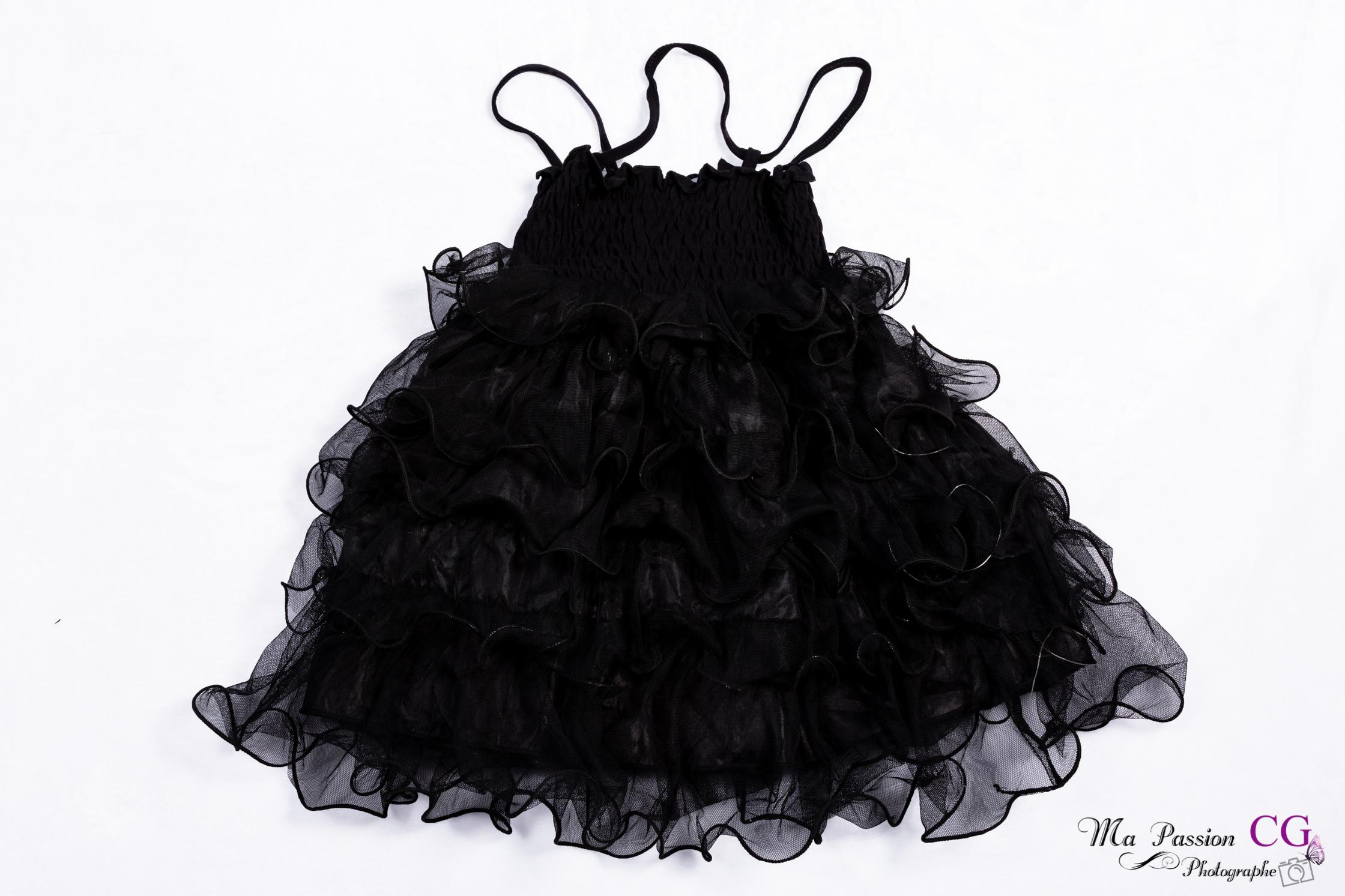Robe bébé noir