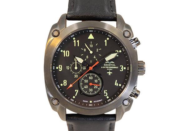 Briston Aviator A-10 Thunderbolt Tribute Watch