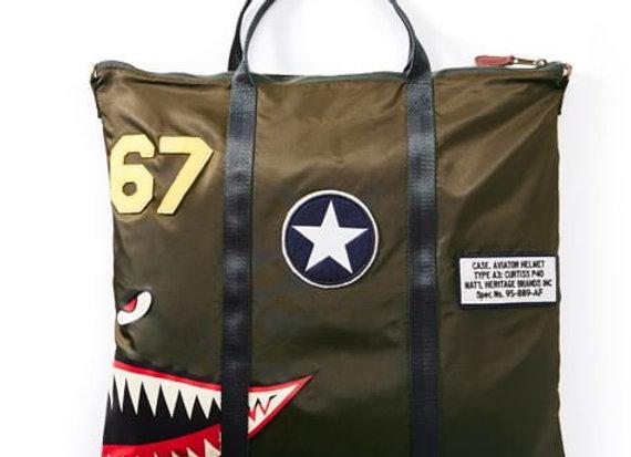 P-40 HELMET BAG - Made of 100% nylon.