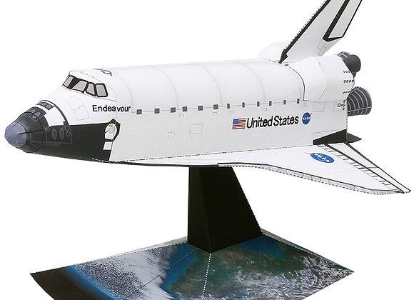 Space Shuttle Orbiter Folding Cutting Handmade 3D Paper Model Papercraft