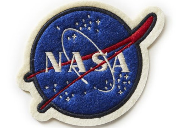 NASA PATCH - 5″ in diameter.