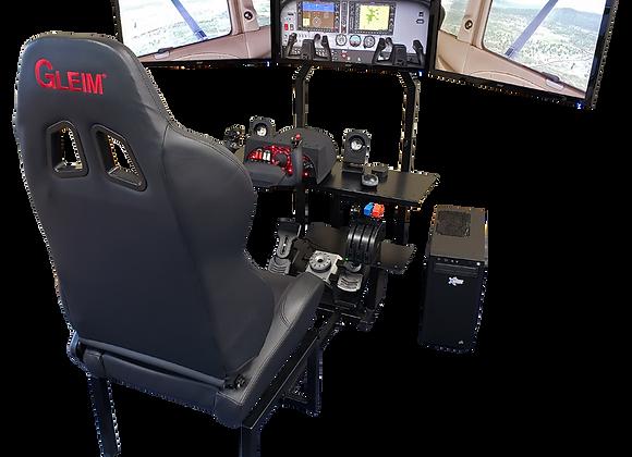 Gleim Virtual Cockpit™ Ultimate Set With Honeycomb Yoke