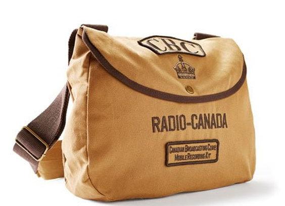 CBC SHOULDER BAG - 100% Cotton Twill Body.