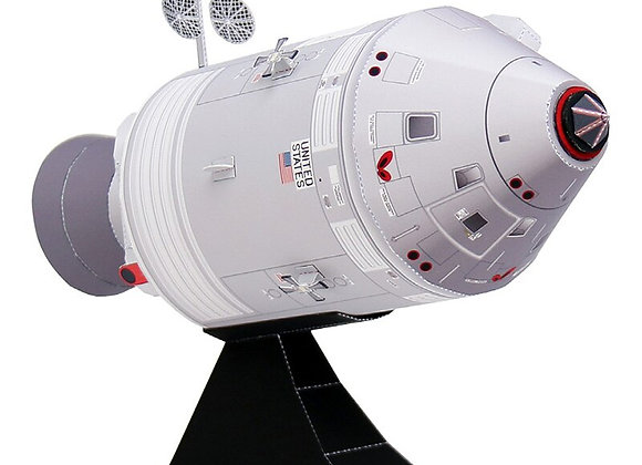Apollo Command Service Module Space - Handmade 3D Paper Model Sci-Fi Papercraft