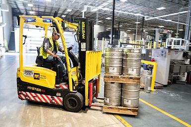 Canva - Person Driving Yellow Forklift (
