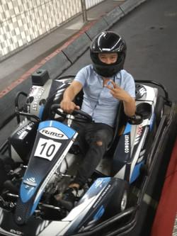 beim Kartfahren (2)