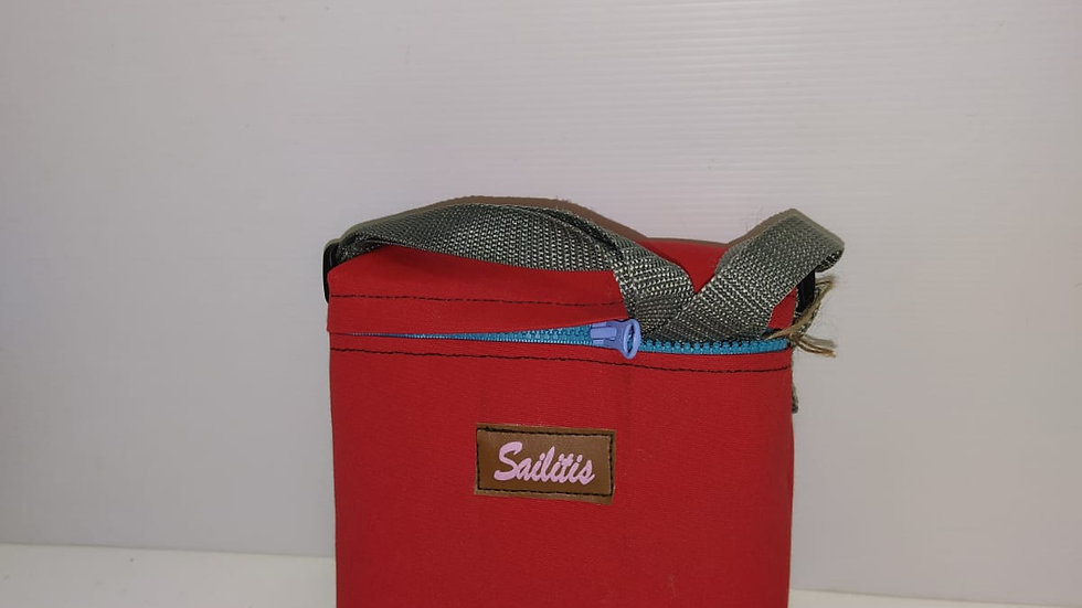 Sailitis Sling Pouch Box/Small /Red