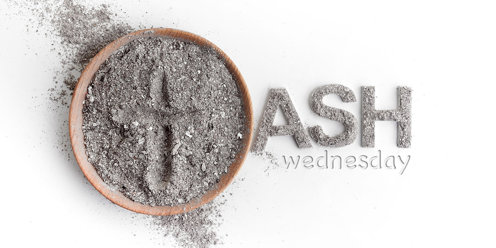 Ash Wednesday Service 10am and 7.30pm