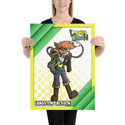 """Langston Poster (Large) 18""""x24"""""""
