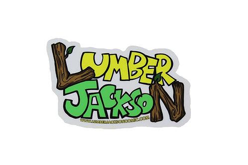 Lumber Jackson  Logo Sticker