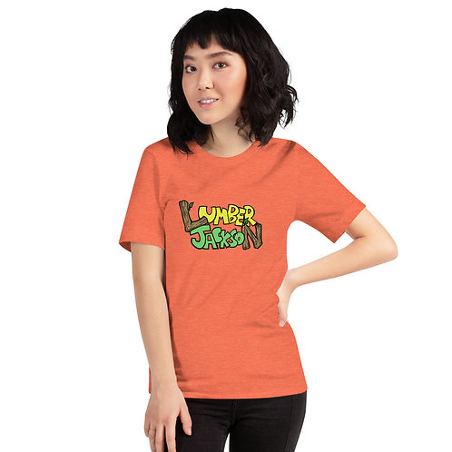 Lumber Jackson Logo Short-Sleeve Unisex T-Shirt