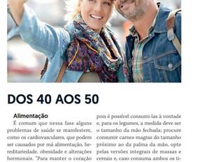 Dicas para viver mais - dos 40 aos 50 anos