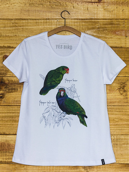 Camiseta feminina Yes Bird