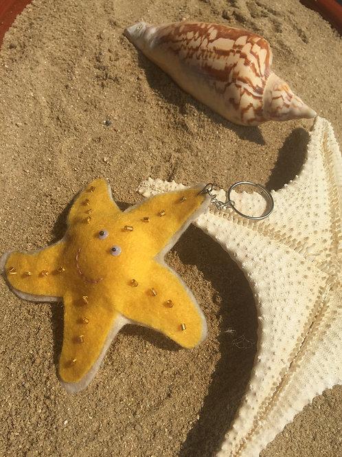 Chaveiro estrela-do-mar