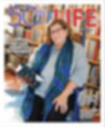 Sherry Knowlton on cover of 50 Plus Life magazine