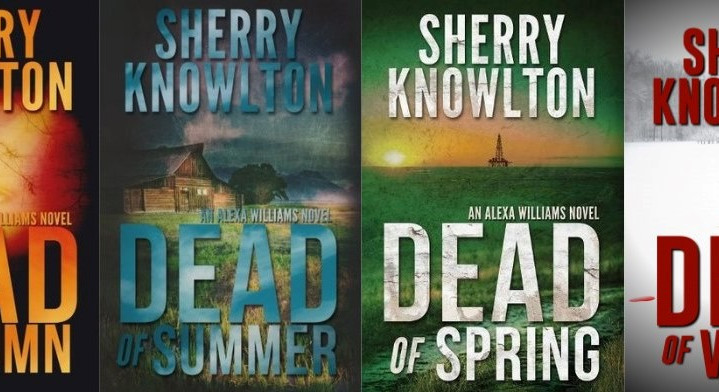 Sunbury Press features Alexa Williams Suspense Series