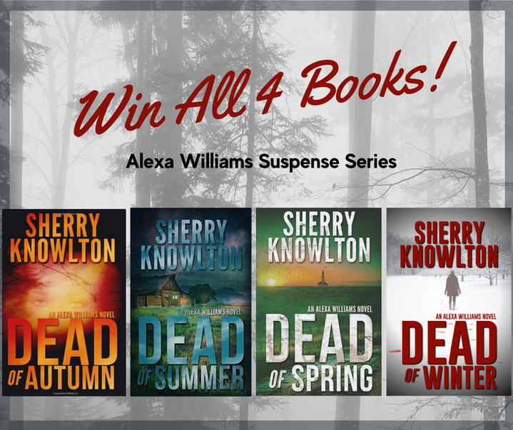 Subscribe to my newsletter - Enter to Win 4 Books!