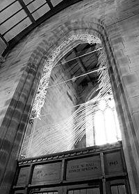 Silverdale Church Glazed Screen